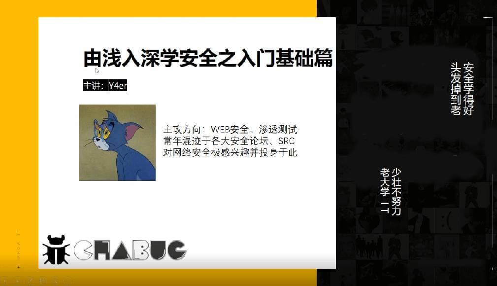 (1063期)【完结】由浅入深学安全