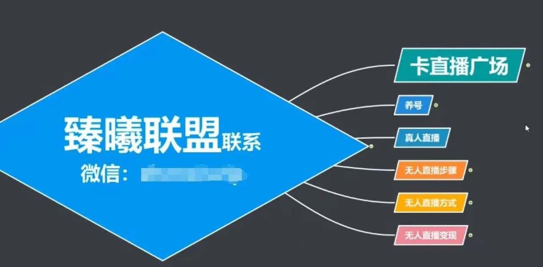 (670期)臻曦联盟,最新无人直播万人在线技术理原及详细操作步骤解析(视频教程)