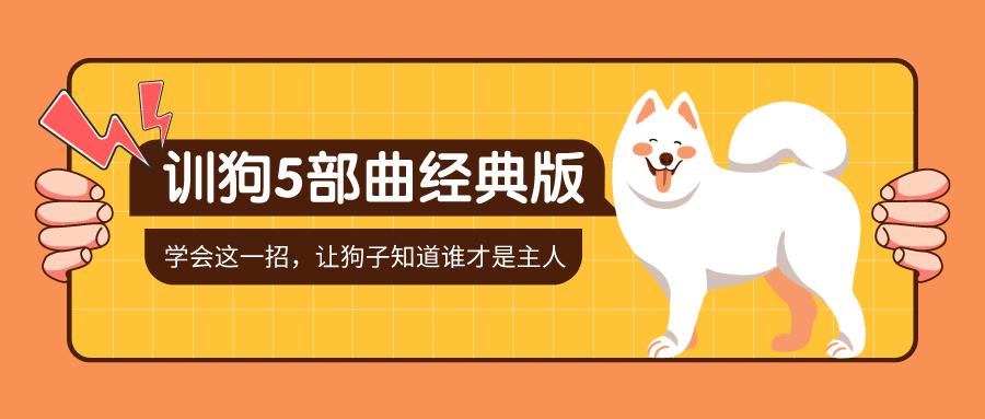 (1152期)【完结】训狗五部曲 养狗不再麻烦